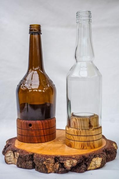 Flaschen-Lichter